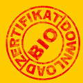 Download-Button Bio-Zertifikat
